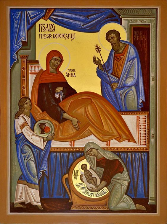 Nativity of Theotokos contemporary