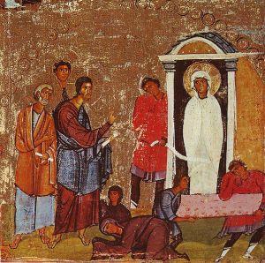 lazarus_miracle_icon_sinai_12th_century