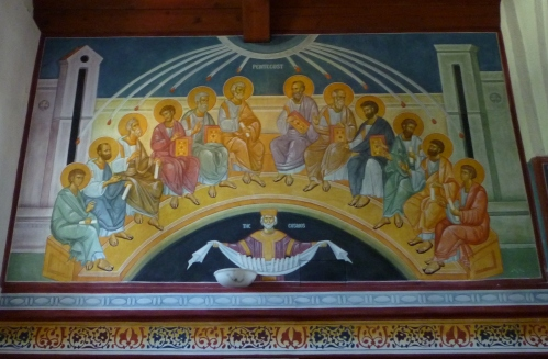 Pentecost fresco 6-14