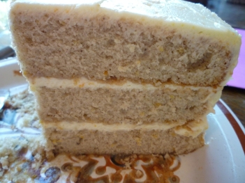 spiced layer cake for Maggie & Pat