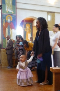 little girl in church 9-14
