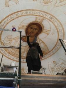 Fr Patrick pantocrator dome