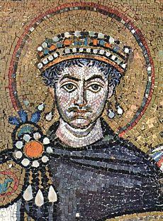 Justinian contemp mosaic