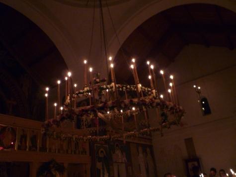 Pascha night chandelier 2012