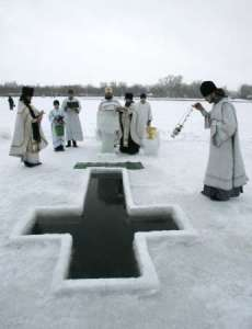 blessing of waters through ice