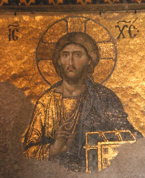 Pantocrator OW Hagia Sophia