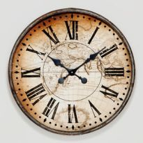 clock antique look