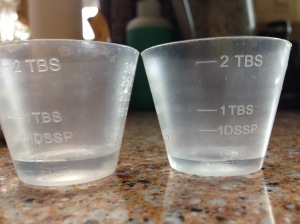 gl half-tsp measure cups