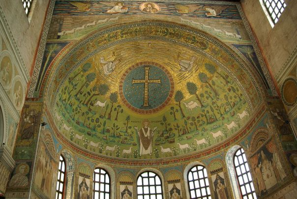 mosaic Ravenna Apollinare 6th wiki