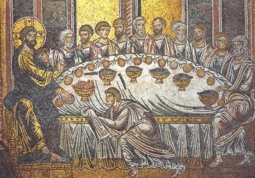 mystical supper monreale