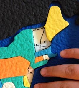 detail map puzzle