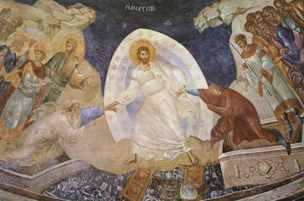 gl harrowing med resurrection anastasis