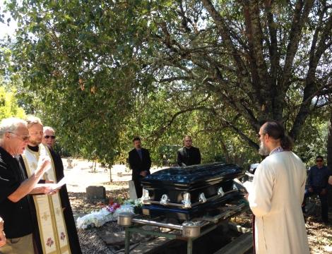 gl Nina graveside