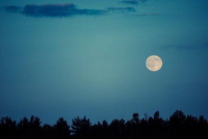 moon & white sky www